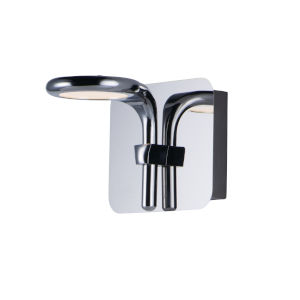 Cobra Polished Chrome One-Light LED Wall Sconce
