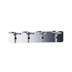 Cobra Polished Chrome Four-Light LED Bath Vanity