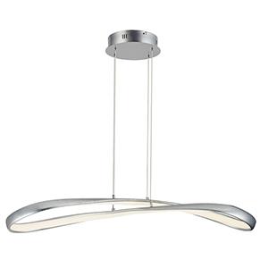 Clover Silver Leaf 10-Inch LED Pendant