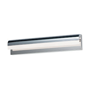 Waterfall Polished Chrome 35-Inch One-Light ADA LED Bath Vanity