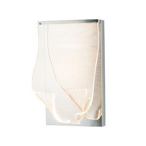 Rinkle Polished Chrome One-Light ADA LED Wall Sconce