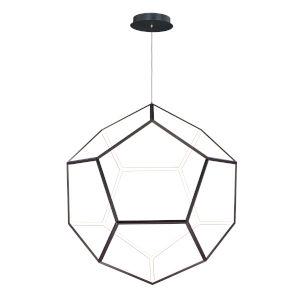 Penta Black One-Light LED Pendant