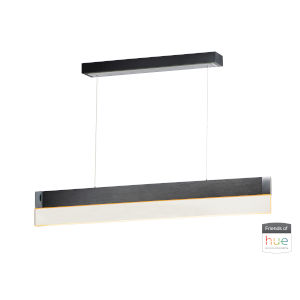 Brushed Black One-Light LED Mini Pendant