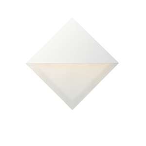 Alumilux Sconce White Eight-Inch LED Wall Sconce ADA