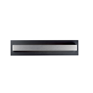 Alumilux Sconce Black and Aluminum Five-Inch LED Wall Sconce ADA