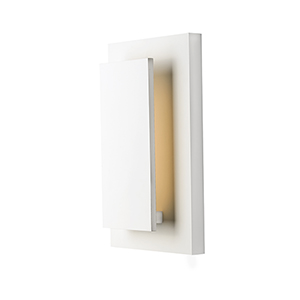 Alumilux Sconce White Nine-Inch LED Wall Sconce ADA