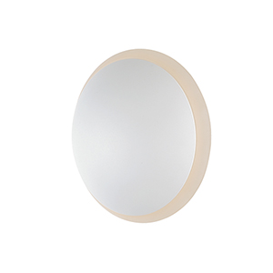 Alumilux Sconce White Six-Inch LED Round Outdoor Wall Mount ADA