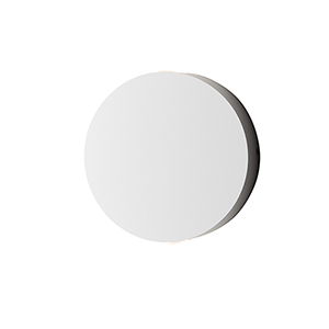 Alumilux Sconce White Four-Inch Two-Light LED Outdoor Wall Mount ADA