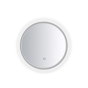 Mirror Stainless Steel 24-Inch One-Light ADA LED Round Mirror