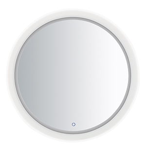 Mirror Stainless Steel 32-Inch One-Light ADA LED Round Mirror