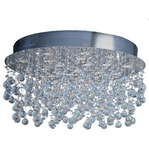 Cascada Eighteen-Light Flush Mount Ceiling Light