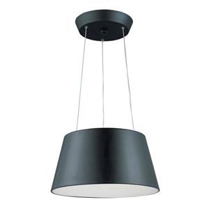 Quantum Black Two-Light LED 18-Inch Pendant