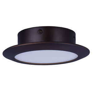 Hilite Bronze One-Light LED 7-Inch Flushmount