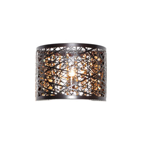 Inca Bronze One-Light LED 8-Inch Wall Sconce
