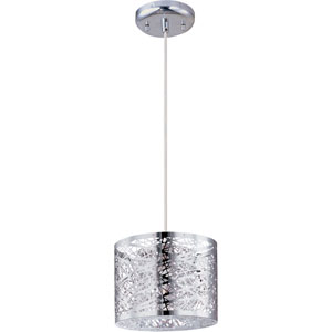 Inca Polished Chrome One-Light Mini Pendant