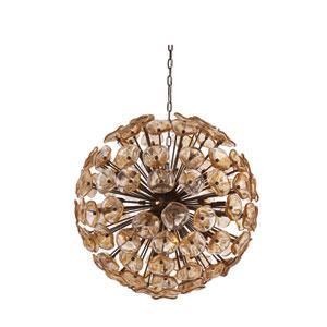 Fiori Bronze Twenty-Eight-Light 32-Inch Pendant