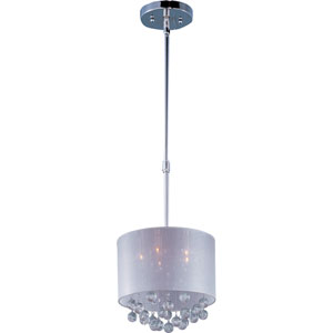 Veil Polished Chrome Five-Light Pendant