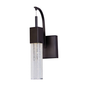 Fizz III Bronze One-Light LED 5-Inch Wall Sconce