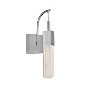 Fizz III Polished Chrome LED 14.5-Inch One Light Wall Sconce
