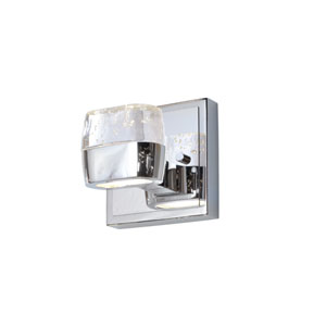Volt Polished Chrome Two-Light LED 5-Inch Bath Fixture