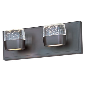 Volt Bronze Four-Light LED 14-Inch Bath Fixture