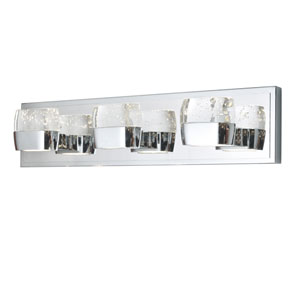 Volt Polished Chrome Six-Light LED 21-Inch Bath Fixture