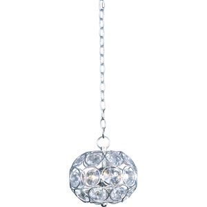 Brilliant Polished Chrome Three-Light Mini Pendant