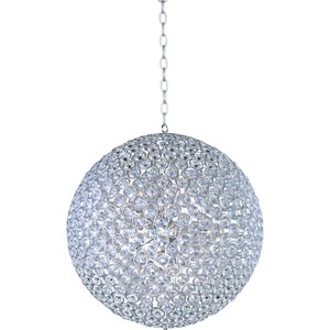 Brilliant Polished Chrome Fifteen-Light Pendant