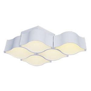 Billow Matte White LED 16-Inch Flush Mount