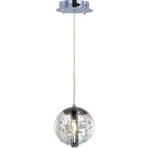 Orb Polished Chrome One-Light Mini Pendant