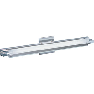 Pivot Polished Chrome LED 27-Inch Wall Sconce