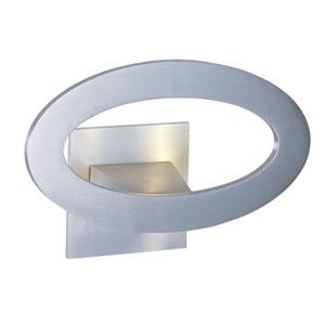 Alumilux Satin Aluminum LED Seven Light Wall Sconce
