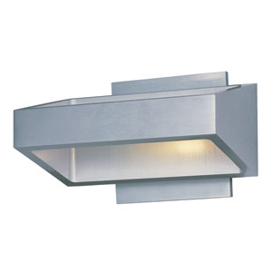 Alumilux Satin Aluminum LED 18 Light Wall Sconce