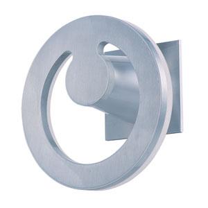 Alumilux Satin Aluminum 28-Light LED 8-Inch Outdoor Wall Sconce