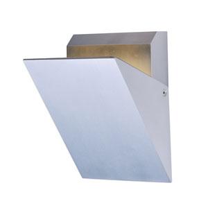 Alumilux AL Satin Aluminum Seven-Inch LED Outdoor Wall Mount