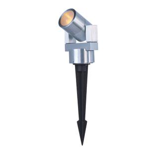 Alumilux Satin Aluminum Three-Light LED 4-Inch Path Lighting