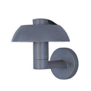 Alumilux DC Dark Grey Six-Light LED 8-Inch Outdoor Wall Sconce