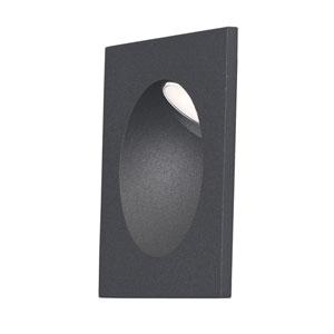 Alumilux AL Bronze LED Three-Inch Outdoor Wall Mount