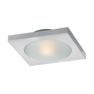 Piccolo LED Satin Nickel One Light Flush Mount