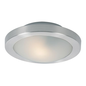 Piccolo LED Satin Nickel 3-Inch One Light Flush Mount