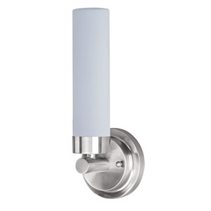 Cilandro Satin Nickel Four-Light 5-Inch LED Bath Fixture