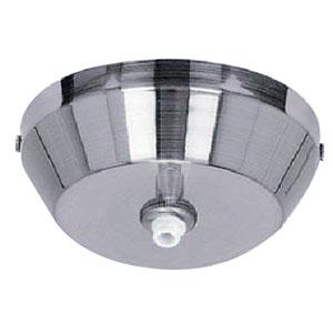 RapidJack Satin Nickel 5-Inch LED Pendant Canopy