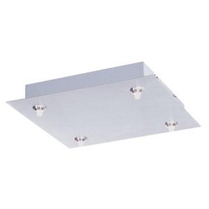 RapidJack Satin Nickel 11-Inch LED Pendant Canopy