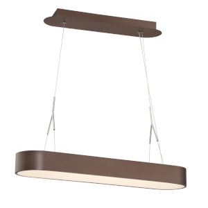 Step Up Bronze 34-Inch LED Pendant