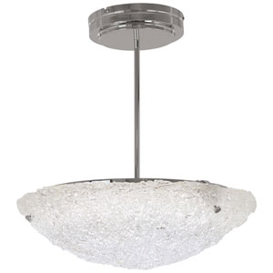 Forest Ice Chrome 20-Inch LED Pendant