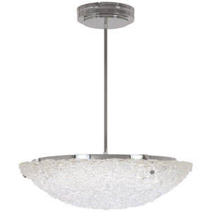 Forest Ice Chrome 16-Inch LED Pendant