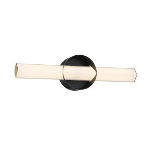Inner Circle Coal and Honey Gold 18-Inch LED Wall Sconce
