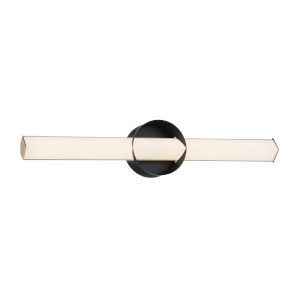 Inner Circle Coal and Honey Gold 24-Inch LED Wall Sconce