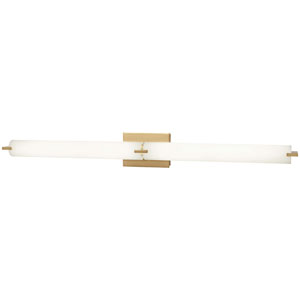 Tube Honey Gold 40-Inch LED Wall Sconce