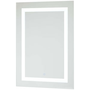 Rectangular 28 x 20 LED Lighted Bathroom Mirror